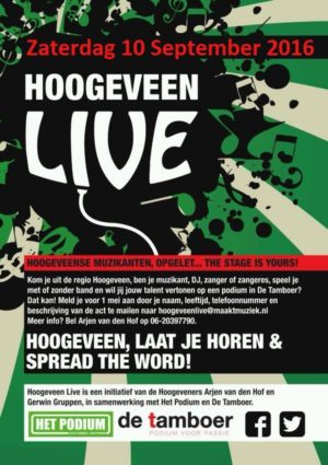 A Touch of Country met info over Hoogeveen Live