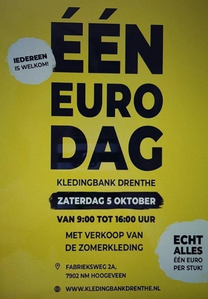 1 euro actie van de Kledingbank ennnn… Jannes!